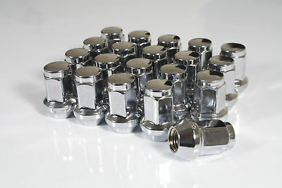 20 x Chrome Hex Wheel Nuts M12x1.5 Fits Ariel Atom Lotus Elise