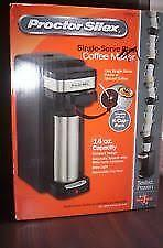 single serve plus proctor silex coffee machine use with any K-Cup