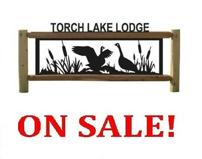 Personalized Goose Sign - Geese - Clingermans Outdoor Signs - Waterfowl