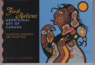 First Nations: Aboriginal Art of Canada - a book of 30 color postcards