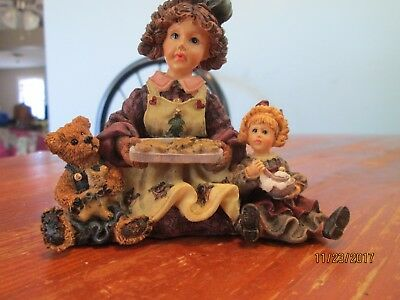 """Boyd's Bears and Friends """"Dollstone Collection """"Remember This Very Needed...."""