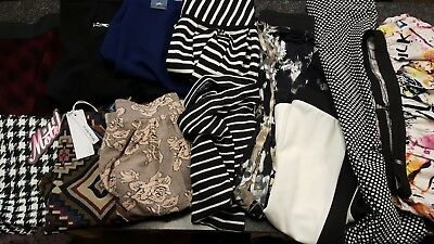 Joblot Ladies 12 Assorted Skirts River Island, New Look Various Sizes.