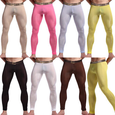 Mens Compression Long Trousers Base Layer Running Tights Joggers Gym Sport Pants