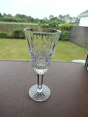"Irish Tyrone Crystal "" ENNISKILLEN "" Wine Goblet"