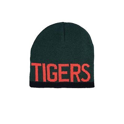 Leicester Tigers 2017/18 Rugby Beanie Hat - Green - size Adult