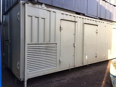 Welfare Unit Site Cabin Canteen Drying Room Toilet Generator 24ft Anti Vandal