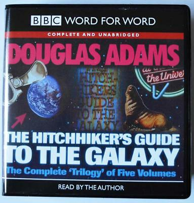The Hitchhikers Guide to the Galaxy Complete set of all 5 audiobooks unabridged.
