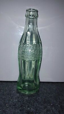 Rare 1915 coca cola bottle hobbleskirt Shenandoah Pa. Mint condition coke