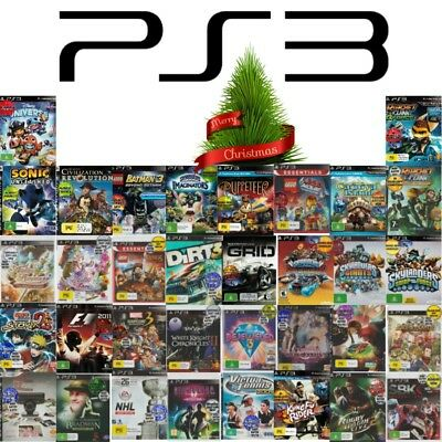 💚💛 Sony PlayStation 3 PS3 ●● GAMES RATED G or PG ●● Your Choice 15/12 💚💛