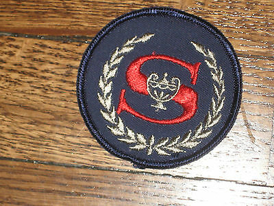 sheraton hotels, patch,new old stock,60's SET OF 2