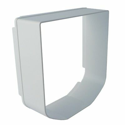 Sureflap Microchip Cat Flap Tunnel Extender In White Can be Stacked Brand New