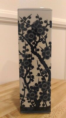 "Beautiful Japanese Vase 3"" long 3"" wide and 9.5"" high"