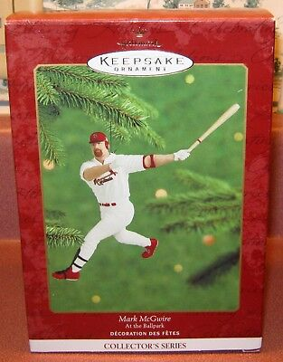 Hallmark Keepsake MARK McGWIRE Ornament NEW BOX 2000 At the Ballpark