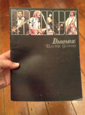 Vintage Ibanez Electric Guitars Catalog Brochure 1978