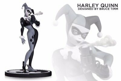 Batman Black And White Harley Quinn Version 2 Edition Statue Bruce Timm Animated