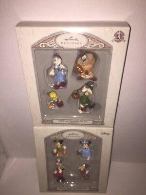Hallmark Keepsake Lot 2 Famous Faces for Halloween & Trick or Treating in OZ NWT