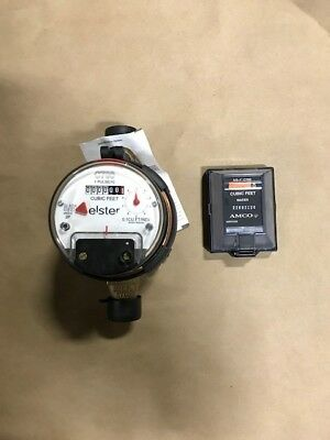 Elster Amco C700 5/8 x 3/4 Direct read Bronze Water Meter with REMOTE NEW