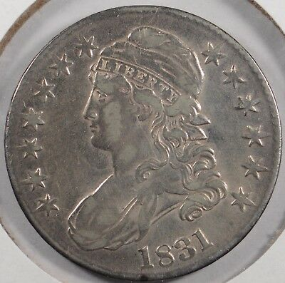 1831 50C Capped Bust Half Dollar Very Fine Condition #179785