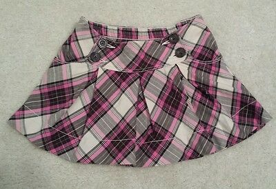 NWT! Baby Gap toddler girl skirt, Brown and Pink Plaid Pleated size 3t School
