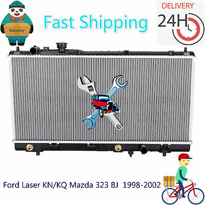 Radiator Ford Laser KN/KQ Mazda 323 BJ  1998-2002 Aluminum Core 26mm Auto/Manual