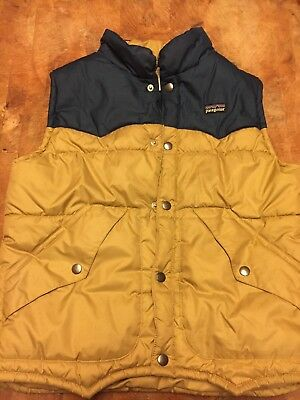 Kids Patagonia Vest In Med Size 10 In Great Condition With Retro Styling