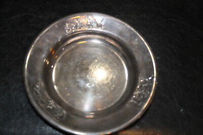Sterling Silver Ash Tray .900 Silver