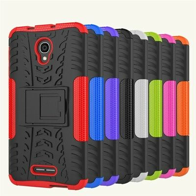 Heavy Duty Tough Strong Case Cover for Optus X Smart / Alcatel Pop 4 Plus