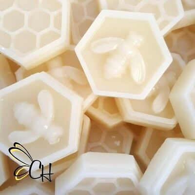 Australian White Beeswax Cosmetic grade Bees Wax Food wraps Lip balms 50 grams