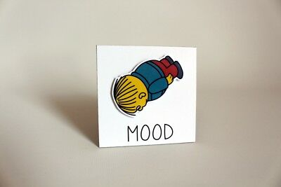The Simpsons Ralph Wiggum Mood meme collectible cartoon fridge art Magnet