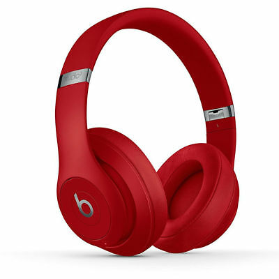 Beats By Dr. Dre Studio3 Wireless Over-Ear Headphones - Red