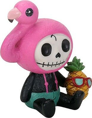 Furry Bones Figurine - Flamingo Star - Dec. Release Skull Skeleton In  Costume b7321710ee3f