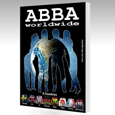 New Book - ABBA Worldwide 8 Countries - 380 Pages - Full-color - Sweden UK US...