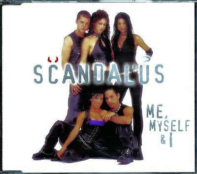 Scandalus Me Myself & I 4 Track Cd - Excellent - Vgc