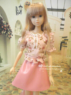 Doll Clothes ~ Momoko Doll Pink top/Skirt Dress 1SET#M-07 NEW
