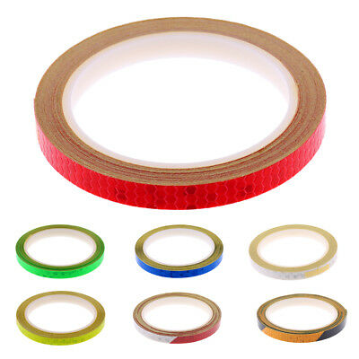 Bike Reflective Stickers Safety Motorcycle Bicycle Cycle DIY Reflector Tape