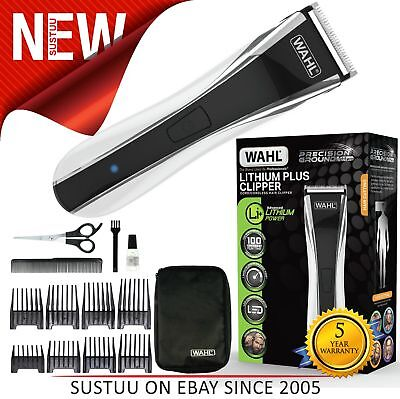 Wahl WL89108S│Men's Lithium Plus Cordless Rechargeable Hair Clipper Kit│NEW│