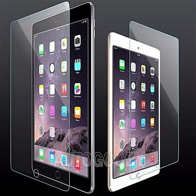 New Genuine Tempered Glass Screen Protector For Apple iPad Mini 4 3 2 Air PRO