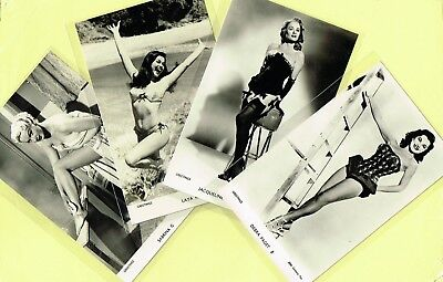 GREETINGS Cards -  Film Stars 1950s Postcard Size Cards issued in the UK List #5