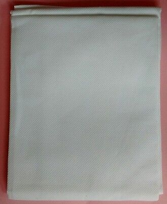 16 COUNT AIDA FABRIC CROSS STITCH White, 39 x 45cm