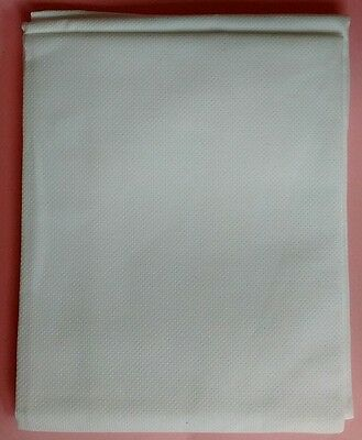 14 COUNT AIDA FABRIC CROSS STITCH White, 39 x 45cm