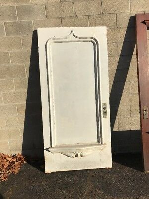 Phil One Antique Angel Face Entry Door 39.5 X 82.75 X 2