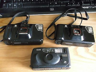 3 Cameras 2 Minolta And 1 Kodak.