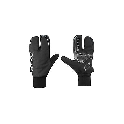 FORCE HOT RAK 3 - Winter Fahrrad Handschuhe 3 Finger