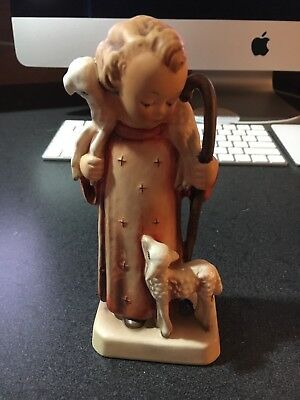 VIintage HUMMEL ~ GOOD SHEPHERD  Figurine 42/0 ~ TMK 2 ~ FULL BEE