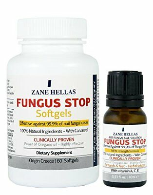 Fungus Stop COMPLETE Solution Nail KIT - Fungus Stop 10ml Solution Nail + Fungu