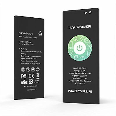 RAVPower Batterie de Samsung Galaxy Note 4 Batterie de remplacement 3220 mAh av