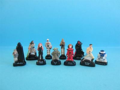 Retired Miniature Porcelain, The Dark Star Wars Collection, Rare On Ebay *mint*