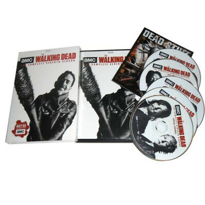 The Walking Dead: The Complete Seventh Season 7 (DVD, 2017,5-Disc Set) New