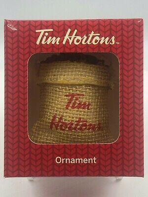 Tim Hortons 2016 Holiday Christmas Tree Ornament Coffee Xmas Buffalo Sabers