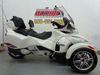 Can-Am Spyder RT Limited  2011 Can-Am Spyder RT Limited Touring Trike Financing shipping